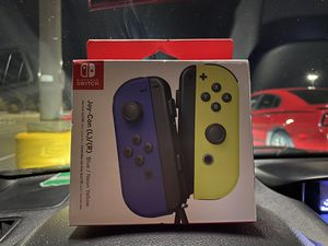 Nintendo Switch Joy-Com Controller (Blue/Neon Yellow) for Sale in Oxford, MA