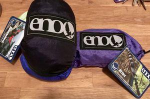 ENO Hammock + Straps (New, Never Used) for Sale in Atlanta, GA