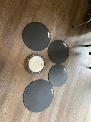 Evans drum silencer pads with or without practice pad for Sale in Arroyo Grande, CA