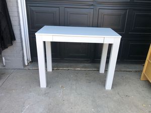 White desk with drawer for Sale in Arvada, CO