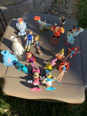 Disney action figures bundle for Sale in Stoughton, MA