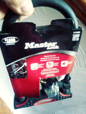 New master lock bike lock for Sale in Waterford, PA
