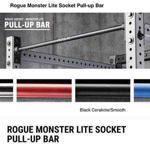 Rogue Monster Lite Socket Creakote Smooth Pull-up Bar for Sale in Redmond, WA