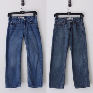 2 Pairs - Levi's 25 x 25 (10 reg) Boys Denim Jeans for Sale in Raleigh, NC