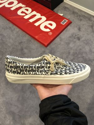 Fear of God Vans 'Marshmallow' for Sale in Aloha, OR