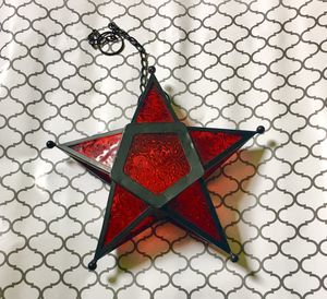 Beautiful Stained Glass Star for Sale in Arlington, WA