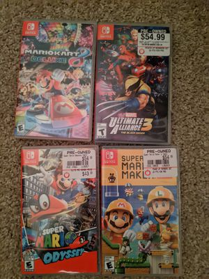 Switch Games for sale or trade for Sale in Kennewick, WA
