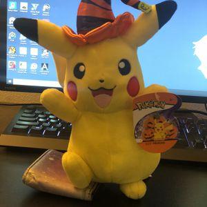 Pokémon Halloween Pikachu Plush for Sale in Newport Beach, CA