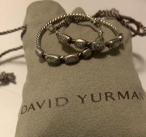 David Yurman Diamond Confetti Hoop Earrings for Sale in San Diego, CA