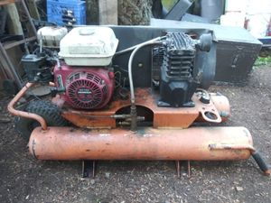 Honda powered Ridgid air compressor for Sale in Auburn, WA