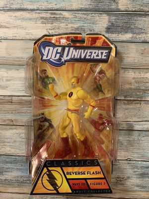DC Universe Reverse Flash Action Figure for Sale in Durham, NC
