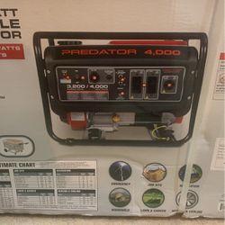 4000w Predator Portable Generator for Sale in Port Orchard,  WA