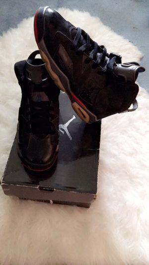Retro Air Jordan 6. size 7 boys for Sale in Portland, OR