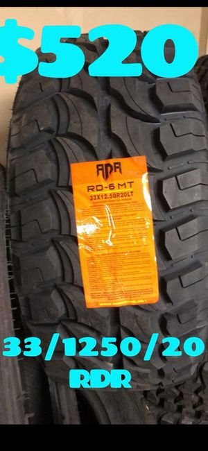 MUD TERRAIN TIRES NEW SET OF TIRES ALL 4 TIRES for Sale in Phoenix, AZ