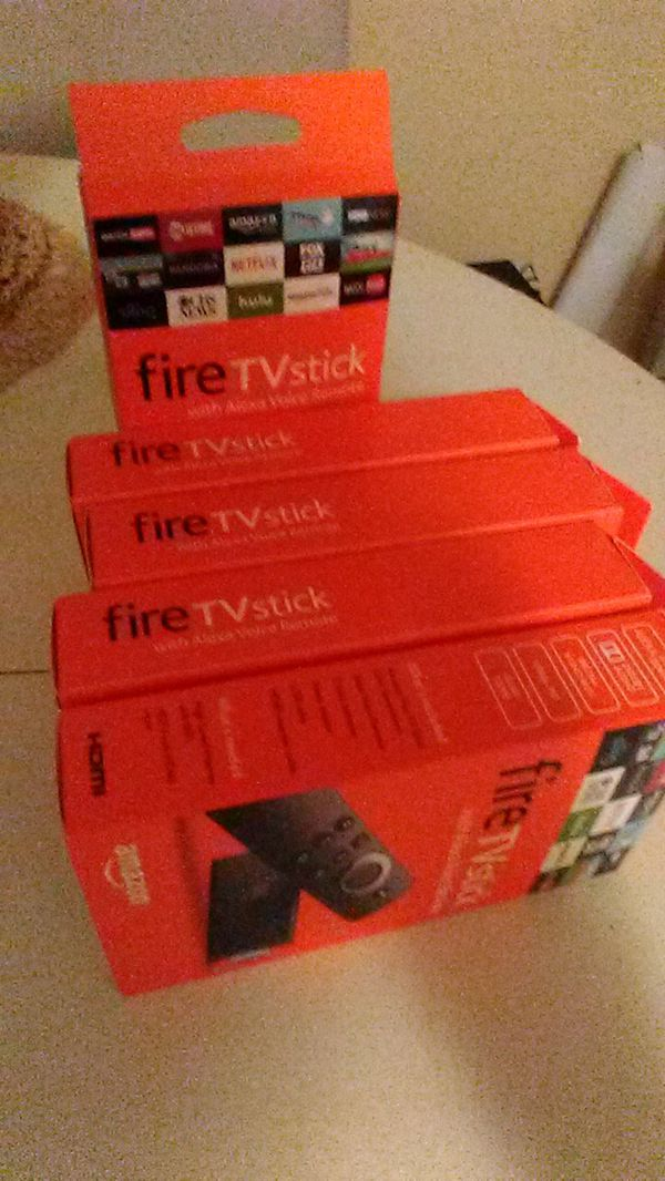 Unlocked firesticks for sell. Get rid of your cable. Watch any movie, TV Shows, Sports. All you need is WIFI. Local delivery and install