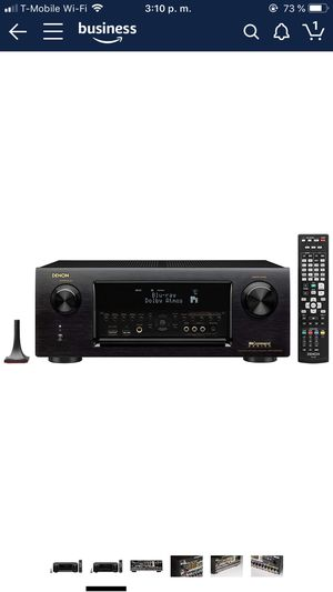 Stereo Denon IN COMAMAN SERIES AV receiver , AVR-X6200W. for Sale in Hayward, CA