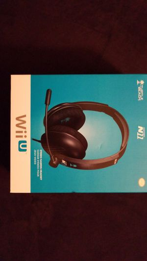 Wii Stereo Gaming Headset for Sale in Washington, DC