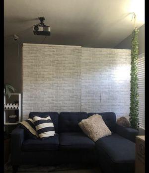 "Dark blue ""L shape"" sofa for Sale in Long Beach, CA"