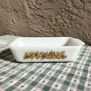 Vintage Anchor Hocking Fire Long Harvest Vegetable Baking Dish for Sale in San Diego, CA