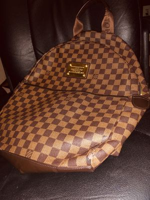 Designer Louis Vuitton Backpack Men's / Women's LV Authentic for Sale in Portland, OR