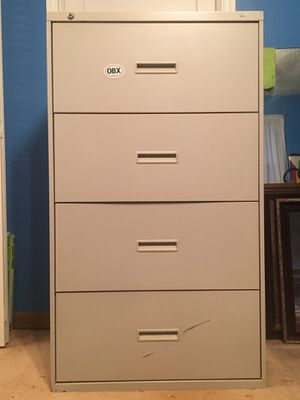 HON - 4 Draw lateral metal filing cabinet for Sale in Greenville, SC
