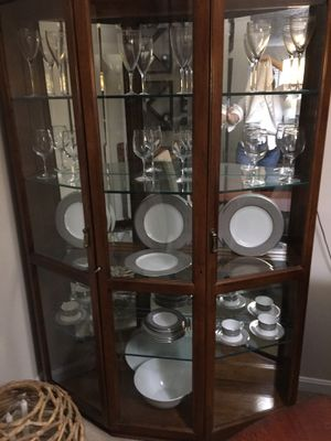 Solid Wood Curio for Sale in Upper Marlboro, MD