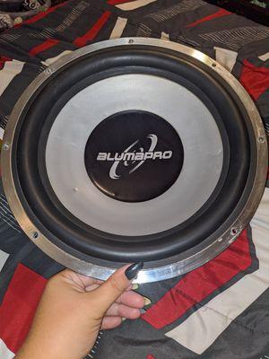"""Alumapro 12"""" sub for Sale in Lodi, CA"""