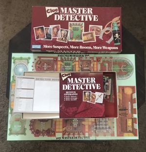 Clue Master Detective Game Complete for Sale in Port St. Lucie, FL