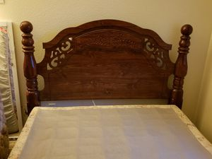 Queen Bed frame. Only selling bed frame for Sale in Salinas, CA