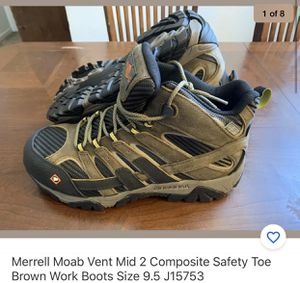 Merrell Work Boots Size 9.5 for Sale in San Diego, CA