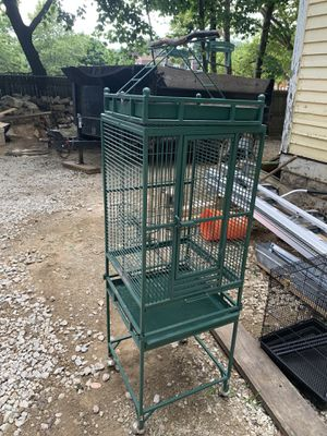 Standing bird cage for Sale in Akron, OH