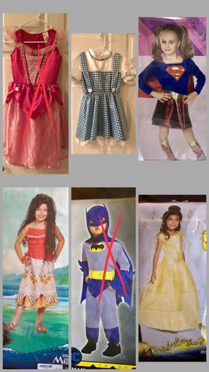 NEW & LIKE NEW kids Costumes. for Sale in Kissimmee, FL