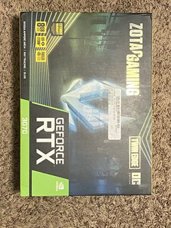 ZOTAC GAMING GeForce RTX 3070 Twin Edge OC Graphcis Card Brand New for Sale in Bellevue,  WA