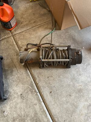Mile marker si12,000 winch for Sale in Dayton, OR