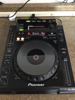 Pioneer Cdj-900 Profesional Multi Player Dj Turntable 11091146908 for Sale in Sacramento, CA