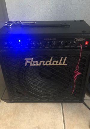 randall guitar amp rg80 for Sale in Fort Lauderdale, FL