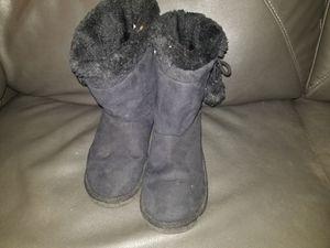 Black fur boots for Sale in Virginia Beach, VA
