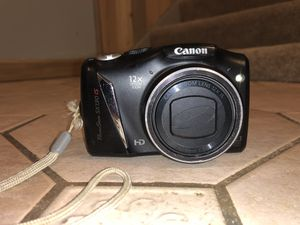 Canon PowerShot SX130IS 12.1 MEGA PIXELS 12x Optical Zoom for Sale in Hartville, OH