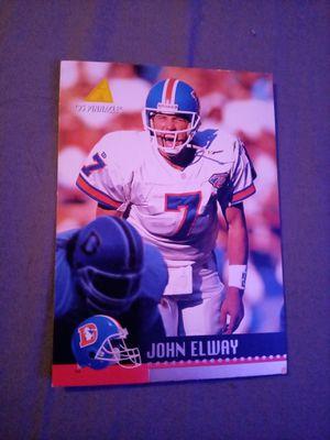 John Elway #7 Denver Broncos 1995 Pinnacle Card # DC 7 for Sale in Mesa, AZ