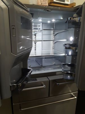 French doors five door refrigerator excellent condition for Sale in Baltimore, MD
