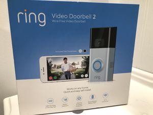 Ring Video Doorbell 2 for Sale in Santa Clarita, CA