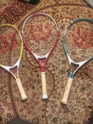 WILSON Tennis Rackets for Sale in San Diego, CA