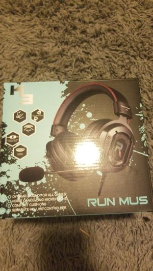 GAMING HEADPHONES WITH RGB for Sale in La Vergne, TN