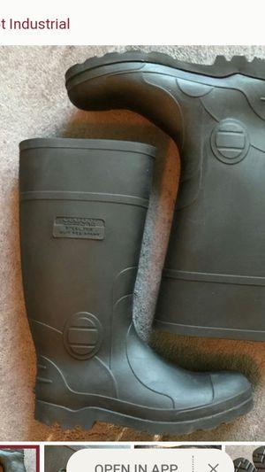 Genfoot steele toe boots Rubber for Sale in Miramar, FL