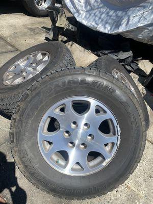 """17"""" 6 Lug Tahoe Z17 Wheels for Sale in Oakland, CA"""