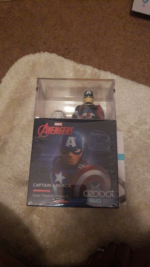 Captain America and IronMan Ozobot for Sale in GRANT VLKRIA, FL