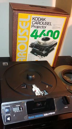 Vintage Kodak carousel projector 4600 for Sale in Marietta, GA