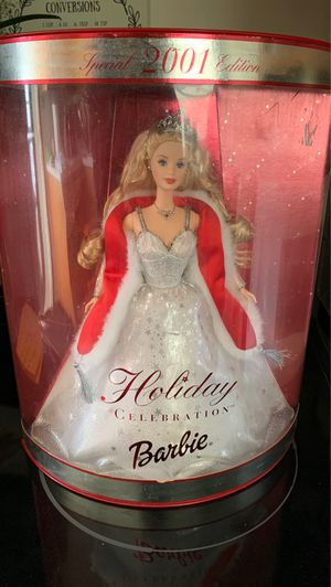 Special 2001 edition holiday celebration barbie for Sale in West Bend, WI