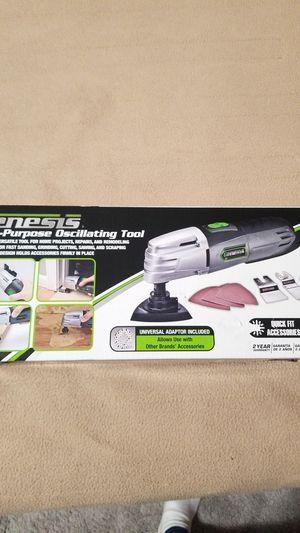 New Genesis Oscillating Tool Kit for Sale in Haddon Heights, NJ