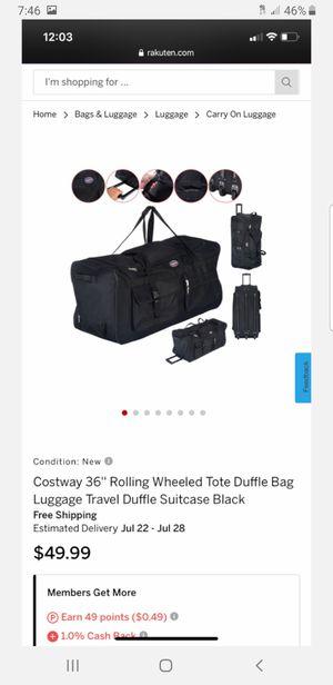 Wheeled Duffle Bag for Sale in Hesperia, CA